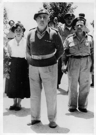 רפאל עבו, מפקד הגא בראש פקודיו,1948
