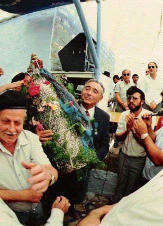 """יוסף עבו עברון, ל""""ג בעומר 1987"""