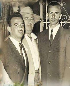 צביקו ואביו רפאל עבו בצפת, שנות השישים