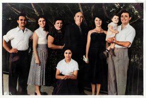 משפחת עבו - 1953 - במרכז רפאל עבו וצאצאיו