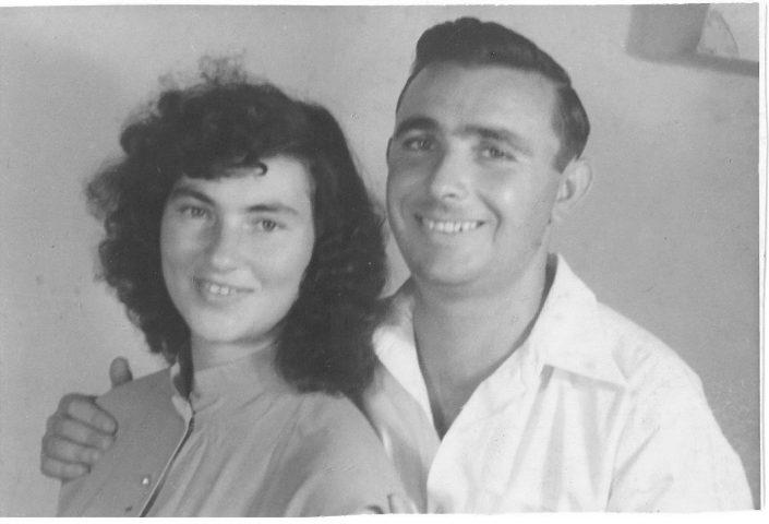 יוסף ויהודית עבו עברון 1950