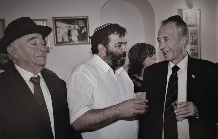 2004 יוסף עבו עברון, השר גדעון עזרא, ראש העיר ישי מימון