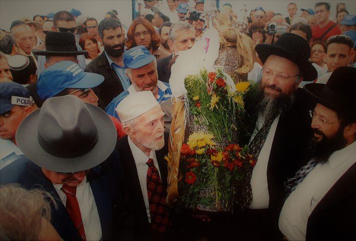 2004 יעקב עבו בנו של הקונסול יצחק מרדכי עבו והרב אליהו