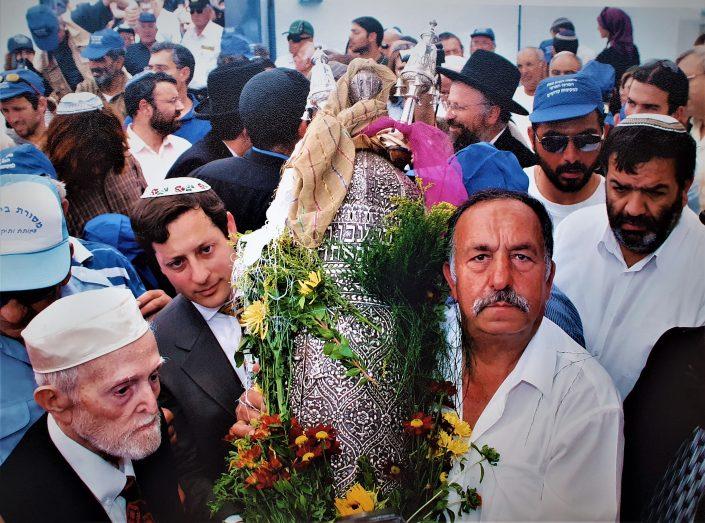 2004 יעקב עבו בנו של הרב הקונסול יצחק מרדכי עבו ויצחק ורד