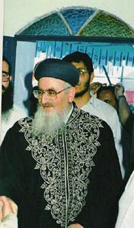 הראשון לציון, הרב מרדכי אליהו בבית עבו, שנת 1989