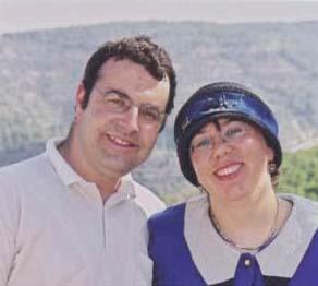 מאירה - בתם הבכורה של שילה וצבי עבו, ובעלה בני קנול